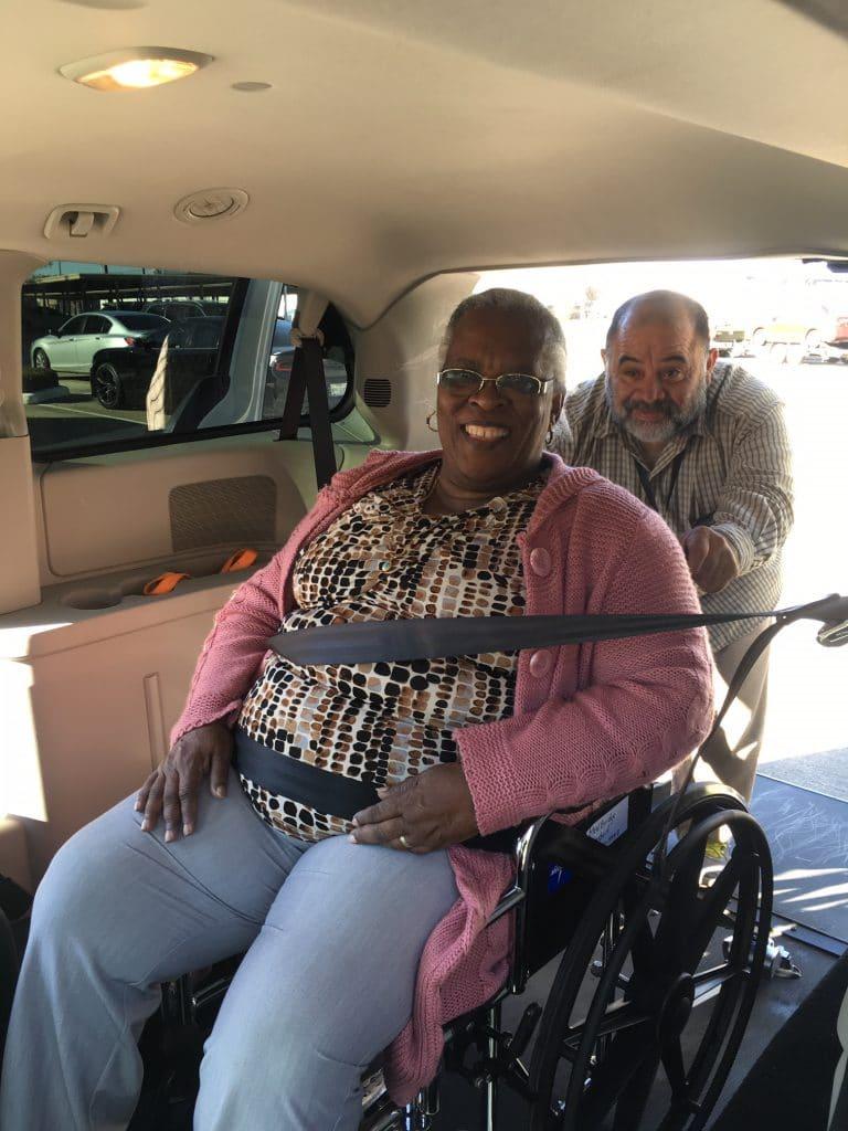 wheelchair transportation service in Houston